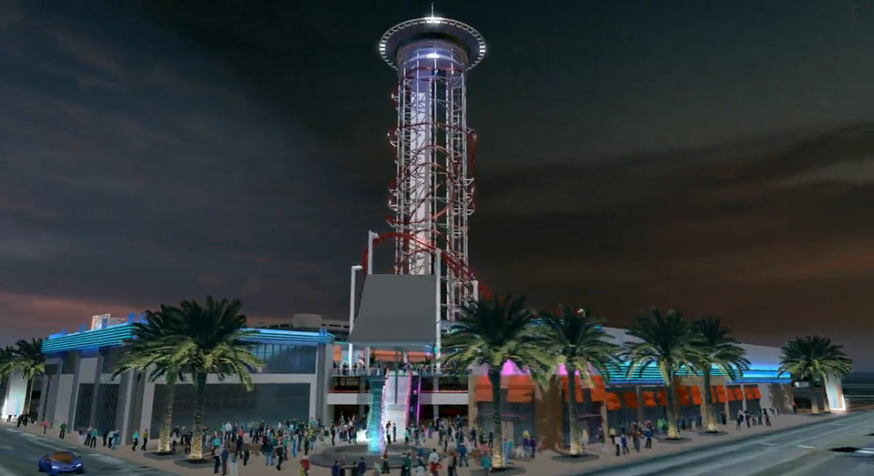 Skyplex Expand Vision Adding Pedestrian Plaza and 450-Foot Drop Ride