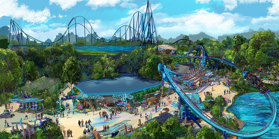 SeaWorld Announces Mako Hypercoaster Coming in 2016