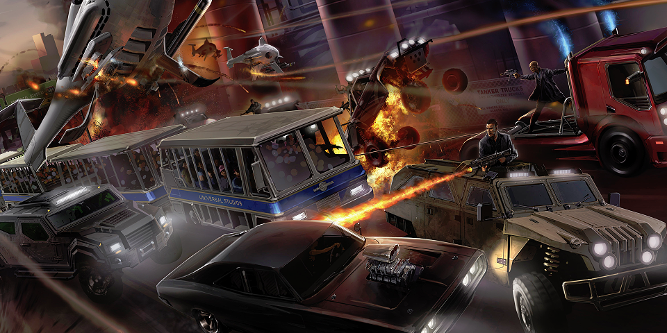 Fast and Furious Thrill Ride Races Onto The Scene At Universal Orlando Resort In 2017