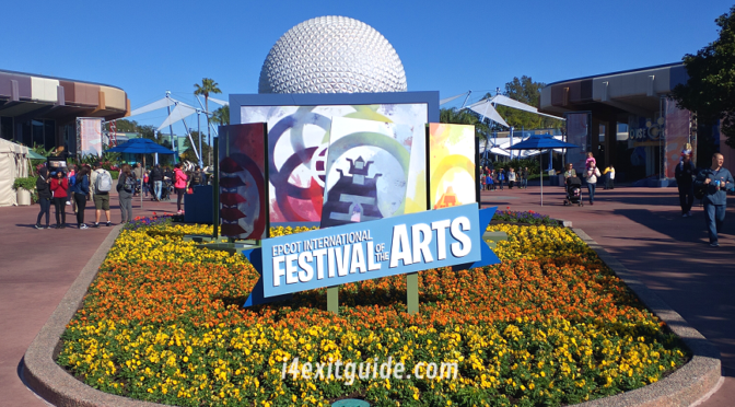 Now Playing: EPCOT's International Festival of the Arts