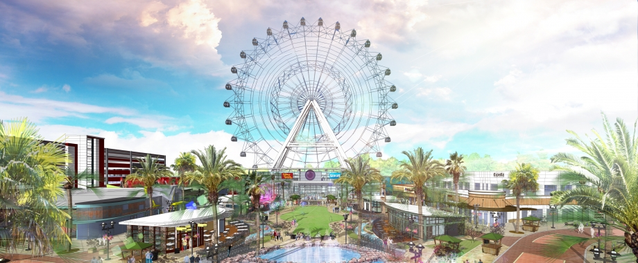Animated Tour of The I-Drive Shopping and Entertainment Complex