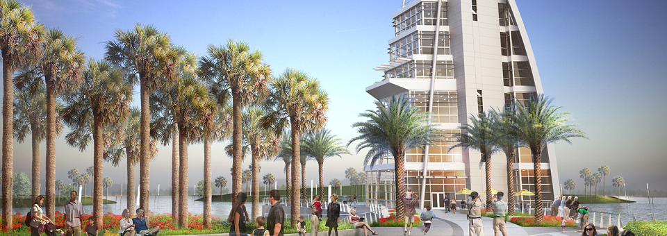 Central Florida's Newest Attraction, Exploration Tower at Port Canaveral